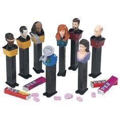 NEW PEZ Star Trek Next Generation 25th Anniversary Edition Collectible Set of 8