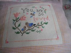 Stitcher: Timi (Hungary)  Design:  The Snowflower Diaries: You Are So Loved (2013)