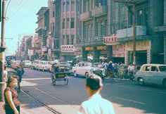 Bangkok in the 1950s – Rare Color Snapshots Captured Everyday Life in the Capital of Thailand 60 Years Ago