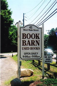 The Book Barn - Niantic CT.  NEED TO GET HERE!!!!!