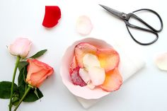 diy candied rose petals: sounds gross but would it be pretty?