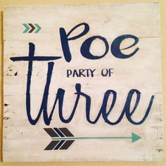 I had a lot of fun at @thecraftyproject creating this for my home! #threeismyfavoritenumber #family #crafting