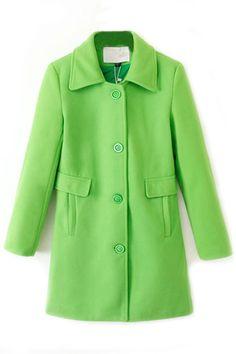 Be Cool Woolen Coat - OASAP.com