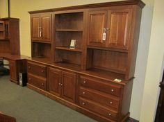 Lateral File Wall Unit - eclectic - filing cabinets and carts - columbus - Geitgey's Amish Country Furnishings
