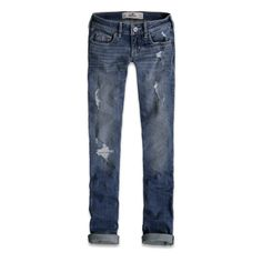 straight but no skinny. Cute Fashion, Fashion Pants, Fashion Beauty, Fashion Outfits, Hollister Clothes, Hollister Jeans, Swag Style, My Style, Liberian Girl