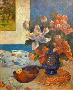 Paul Gauguin – Nature morte à la mandoline (1885), Musée d'Orsay
