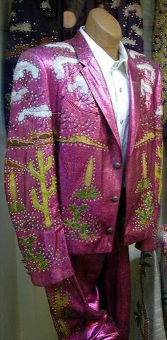 One of Rex Allen's Nudie Suits- this suit is gorgeous!! (in an over-the-top way)