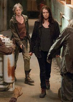 Maggie and Carol ~ Season 6 Episode 13 ~ TWD