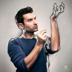 All Sketches serie by Sebastien Del grosso