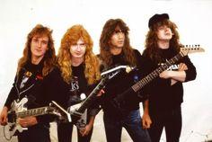 Dave Mustaine David Ellefson Megadeth