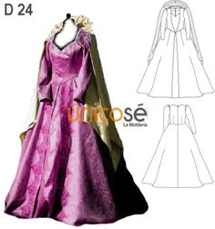 Molde: MOLDE: D 24 INF. Cosplay, Raincoat, Victorian, Jackets, Dresses, Ideas, Fashion, Costumes, Princess