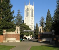 University of the Pacific...NOT my favorite place. But it was my home for 2 1/2 years.