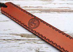 Tree of Life Leather Bookmark Spiritual Bookmark Book Mark