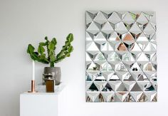 Reflections Mirror designed by Julie Hugau & Andrea Larsson