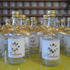 Lembrancinhas personalizadas para batizado produzidas por Mônica Guedes