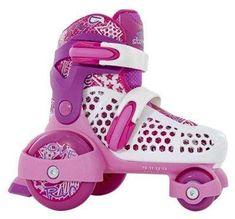 Stateside SFR Stomper Boys/girls/junior Adjustable Quad Starter Roller Skates 07-09 Child