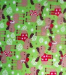 Holiday Inspirations Fabric-Christmoose Flannel