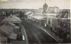 Petersham Railway Station in western Sydney in 1885 •State Archives of NSW• 🌹