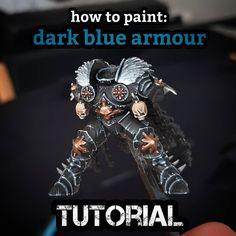 Painting Tips, Painting Techniques, Dark Vengeance, Deathwatch, Fantasy Model, Modeling Techniques, Warhammer Fantasy, Mini Paintings, Copenhagen Denmark