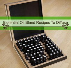 Diffusing essential oils is fantastic for releasing their fragrance and therapeutic benefits. Try these essential oil blend recipes for mind, body and soul.