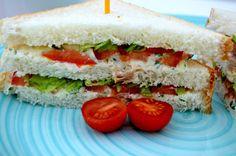 Bimby & Sabores da Vida: Sanduíche com Pasta de Requeijão e Frango
