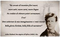Rimbaud, Una stagione all´inferno