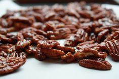 Delicious spicy pecans! Easy to make and maybe even give as a holiday gift!