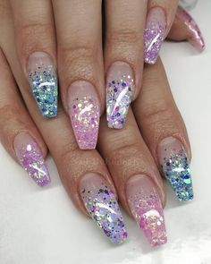 55 Alluring Glitter Nail Art Design Perfect For Every Occasion - CollageCab