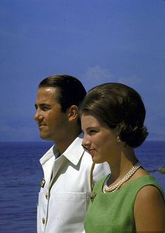 King Constantine II and Anne Marie