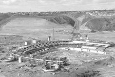 San Diego Stadium Under Construction 1965 ( I was born this year ) lol