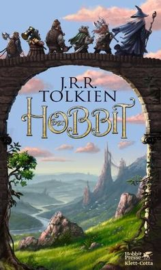 The Hobbit, J.R.R. Tolkien by Ali Cat