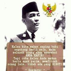 Good Day Quotes, Quote Of The Day, Best Quotes, Life Quotes, Quotes By Famous People, People Quotes, Islamic Inspirational Quotes, Islamic Quotes, Soekarno Quotes