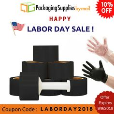Ends tomorrow ‼️ Grab this low-price ‼️ Shop Now to get 10% Off with code: LABORDAY2018 🛍️ https://www.packagingsuppliesbymail.com/ #Packaging #Shipping #Industrial #Medical #Coupon #Onlineshopping #Onlinecoupons #discountcoupon #promocodes #freeshipping✈️