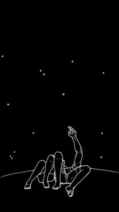 Wallpaper, fofo, beautiful, love, stars, noite,