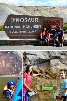 Dinosaur National Monument near Vernal, Utah is known for it's famous dinosaur quarry, but there is much more to do there including hiking and rafting. Utah Vacation, Vacation Spots, Vacation Ideas, Disney Vacations, Vacation Travel, Dream Vacations, Las Vegas, Colorado Springs, Denver Colorado