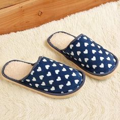 25b2516bd8b US SIZE Winter Slippers Women Indoor Flat Shoes Solid Color Men Home  Slippers Multi- Design Pantufas Ladies Casual House Shoes