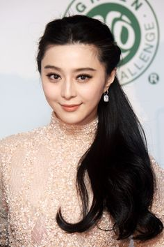 Fan Bingbing's Soft and Lovey Ponytail