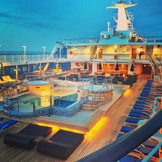The beautiful pool deck on @OceaniaCruises #cruise ship Insignia #lovetheolife  #OceaniaCruises This shot taken by our Marketing Director Sarah!