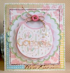 Jan 18 2011 Occasion Baby Cards Posted by: Kristen Swain · Edit Good morning Circlets!It's Kristen with some sweet baby cards. Baby Shower Cards, Baby Cards, Diy And Crafts, Paper Crafts, Paper Art, Baby Baptism, Kids Birthday Cards, Scrapbook Cards, Scrapbooking