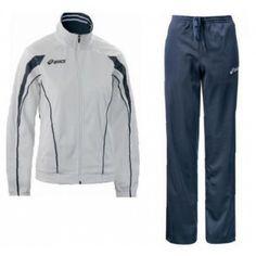 Asics Luna Lady melegítő női fehér,tengerészkék Asics, Adidas Jacket, Athletic, Lady, Jackets, Fashion, Moda, Athlete, Fashion Styles