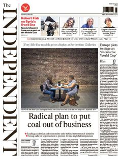 Today's Independent front page