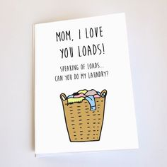mom diy 19 Funny Mothers Day Cards For 2016 That Are Sure To Make Your Mom Smile Funny Greetings, Funny Greeting Cards, Funny Cards, Bday Cards, Funny Birthday Cards, Diy Birthday Cards For Mom, Birthday Quotes, Birthday Humorous, Dad Birthday Card