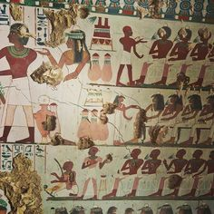 Ancient Egyptian Tomb With Colorful Murals Found: Photos - Seeker