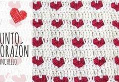 DIY aprende cómo hacer punto corazón ganchillo Valentines Day Bags, Valentine Candy Hearts, Valentine Day Crafts, Beginner Crochet Tutorial, Crochet For Beginners, Learn To Crochet, Diy Crochet, Heart Diy, Rose Tutorial