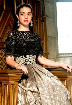 "New still of Mary Stuart in ""Terror of the Faithful"". (2x08)"