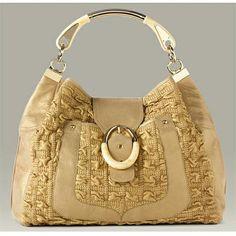 Fashion Bag by Versace Latest Handbags, Unique Handbags, Stylish Handbags, Fashion Handbags, Purses And Handbags, Fashion Bags, Denim Cutoffs, Versace Bag, Versace Fashion