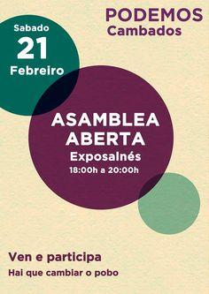 """CORES DE CAMBADOS: ASAMBLEA DE """"PODEMOS"""" CAMBADOS"""