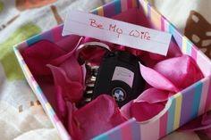 Way to propose!