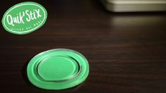 An intelligently designed, re-usable, super sticky gel pad engineered to keep your possessions secure on almost any surface.