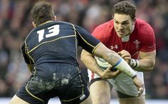 British and Irish Lions backs in pictures